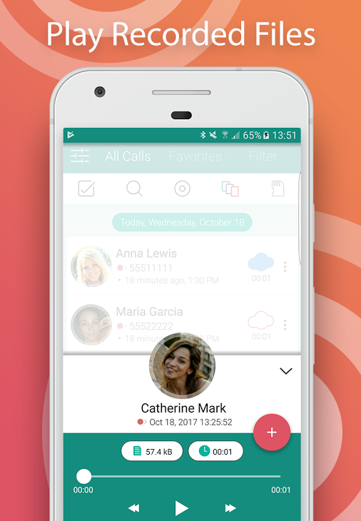 CallU - Automatic Call Recorder Pro